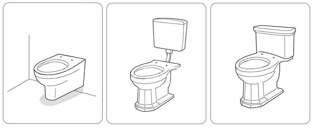 Dusch WC Leeventus